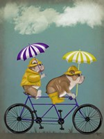 English Bulldog Tandem Fine-Art Print