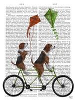 Beagle Tandem Fine-Art Print
