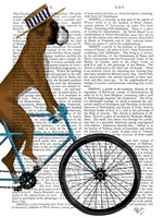 Boxer on Bicycle Fine-Art Print