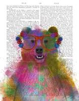 Rainbow Splash Bear Fine-Art Print