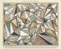 Modern Map of Paris Fine-Art Print