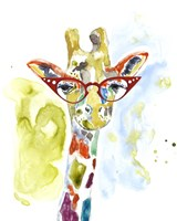 Smarty-Pants Giraffe Fine-Art Print