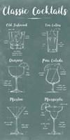 Mixology Infograph Fine-Art Print