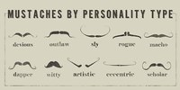 Mustaches Personalities Fine-Art Print