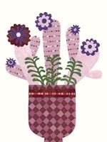 Cheerful Succulent III Fine-Art Print