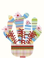 Cheerful Succulent VI Fine-Art Print