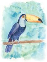 Sweet Tropical Bird I Fine-Art Print