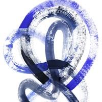 Blue Kinesis IV Fine-Art Print