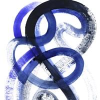 Blue Kinesis VI Fine-Art Print