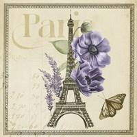 Paris Ephemera VI Fine-Art Print