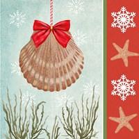 Christmas Coastal I Fine-Art Print