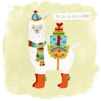 Fa-la-la-la Llama I Fine-Art Print