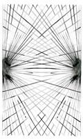 Rays IV Framed Print