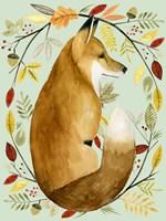 Autumn Wreath II Fine-Art Print