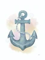 Watercolor Anchor Fine-Art Print