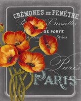Chalkboard Paris III Fine-Art Print