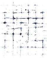 Indigo Ink Motif VII Fine-Art Print