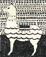 Party Llama II Framed Print