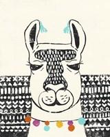 Party Llama III Framed Print