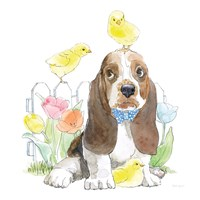 Easter Pups V Fine-Art Print