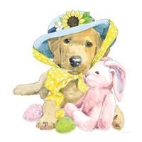 Easter Pups VI Fine-Art Print