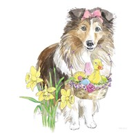 Easter Pups II Fine-Art Print