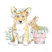 Easter Pups I Fine-Art Print