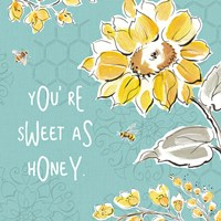 Bee Happy III Fine-Art Print