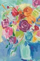 Matisse Florals Pastel Crop Fine-Art Print
