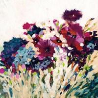 In Bloom on White Crop Fine-Art Print