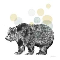 Sketchbook Lodge Bear Neutral Fine-Art Print