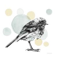 Sketchbook Lodge Bird Neutral Fine-Art Print