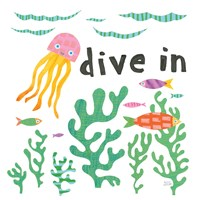 Ocean Splash III Fine-Art Print