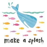 Ocean Splash I Fine-Art Print