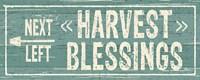 Harvest Signs VI Fine-Art Print
