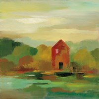 October Farm II Fine-Art Print