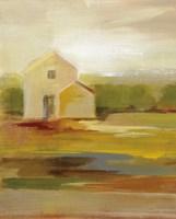 Hillside Barn I v2 Fine-Art Print