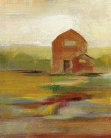 Hillside Barn II v2 Fine-Art Print