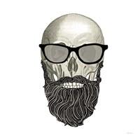 Hipster Skull I Fine-Art Print