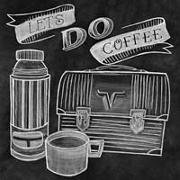 Let's Do Coffee Chalk Fine-Art Print