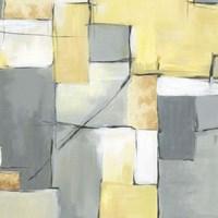 Golden Abstract I Fine-Art Print