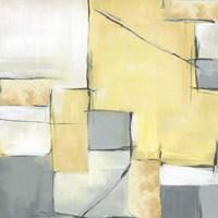Golden Abstract II Fine-Art Print