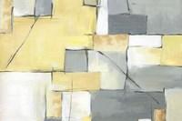 Golden Abstract III Fine-Art Print