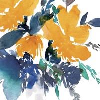 Indigo Flower I Fine-Art Print