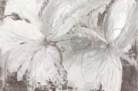 Silver Floral Fine-Art Print