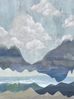 Cloudy Mountains I Fine-Art Print