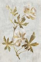 Botanical Gold on White IV Fine-Art Print