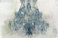 Blue Chandelier Fine-Art Print