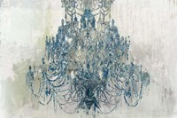 Blue Chandelier Fine-Art Print