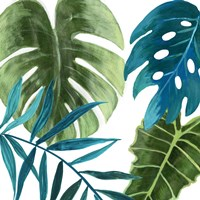 Tropical Leaves I Fine-Art Print